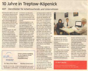 BER-10 Jahre AVP in Treptow